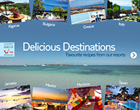 Delicious Destinations iPad App