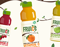 Fruice Rebrand and Packaging Design
