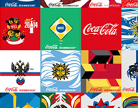 2014 FIFA World Cup Minibottles