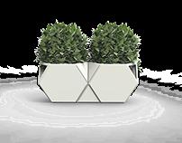 Shape and Pot - maceteros modulares