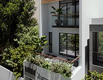 VT house exterior |CGI Design: Duy Huynh 893.studio