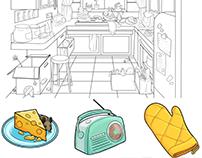 Kitchen Object Find