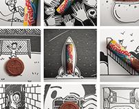 Ilustrações Instagram Treloso | 2016.2