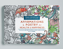 Adult Coloring Book: Affirmations & Poetry