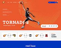 Tornados | Basketball WordPress Theme