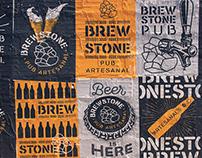 BrewStone Pub - Branding