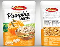 Pumpkin seeds packaging design