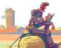 Popular Classic Literature Books #1: Quijote