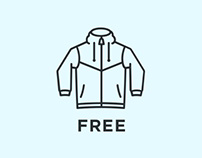 Casual Wear: Free Vector Icons