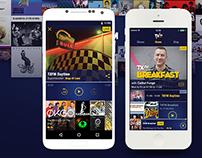 TXFM Radio App