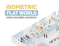 Isometric Flat World