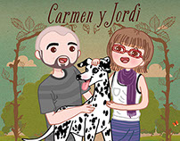 Wedding Invitation: Carme y Jordi
