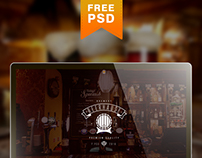 BEER Hause FREE web site template