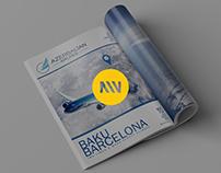 Azerbaijan Airlines Magazine:  BARCELONA