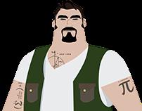 Character Design Simplex