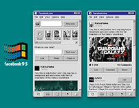 Weekly Project Challenge #3 - Facebook for Win95