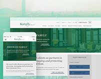 Kanaly Trust responsive web design and badge