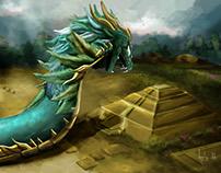 La llegada (Quetzalcoatl)