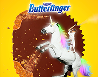 Butterfinger Conquers Facebook
