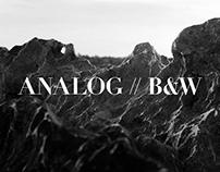 ANALOG // B&W