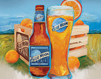 Blue Moon - Pub Promotional Campaign