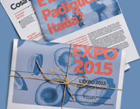 Expo2015 | Infographic Tabloid