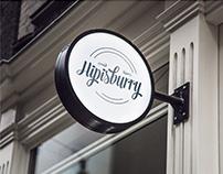 HIPISBURRY Logo Design