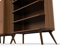 Apol | Study Table & Side Table & Shelf
