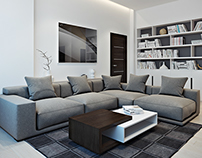 Apartment in Austria - 3D render