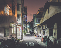 At Night - Taichung, Taiwan II