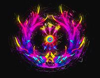 Neon Horn Eye