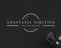 Anastasia Nikitina photographer | logo