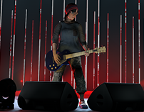 Concert Render Animation