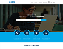 Ikorm: Elearning Marketplace Portal for Selling Courses