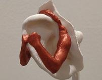 Box Your Ears (Ear Art Project)