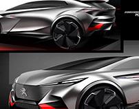 Peugeot 6008 SUV concept