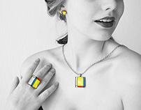 Inspiration from Piet Mondrian - 2015
