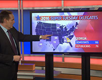 Super Tuesday Touchscreen