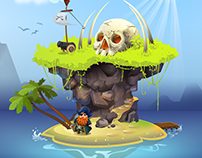 Environment Design // Pirate Island
