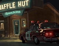 Waffle hut