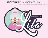 Rediseño de marca - El Almacén de Lila