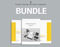 BUNDLE - Graphic Design Portfolio Template