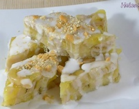 cách làm Bánh Chuối Hấp thơm ngon – Steamed Banana Cake