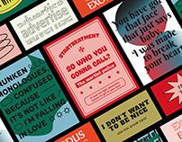 Posters + postales + stickers | Arctic Monkeys