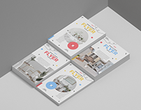 Free Brand A4 Paper Flyer Mockup