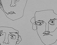 Faces in My Sketchbook
