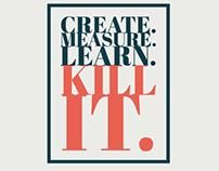 Create. Measure. Learn.