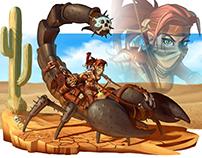 Scorpion Rider