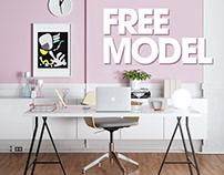 Ikea Home Office - FREE MODEL