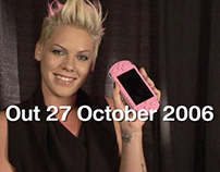2006 Pink! SONY PSP promo